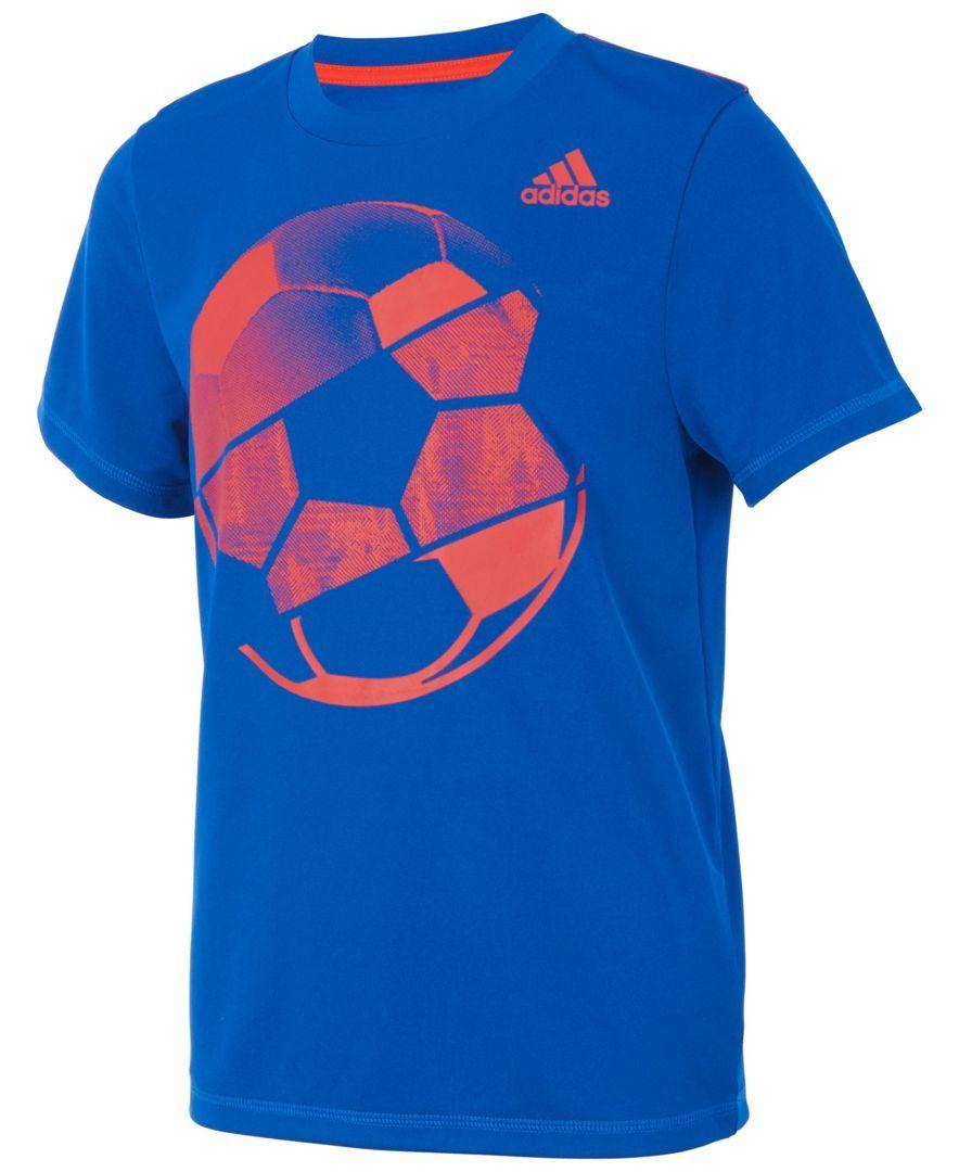 adidas Sports BallPrint TShirt, Toddler Boys Adidas