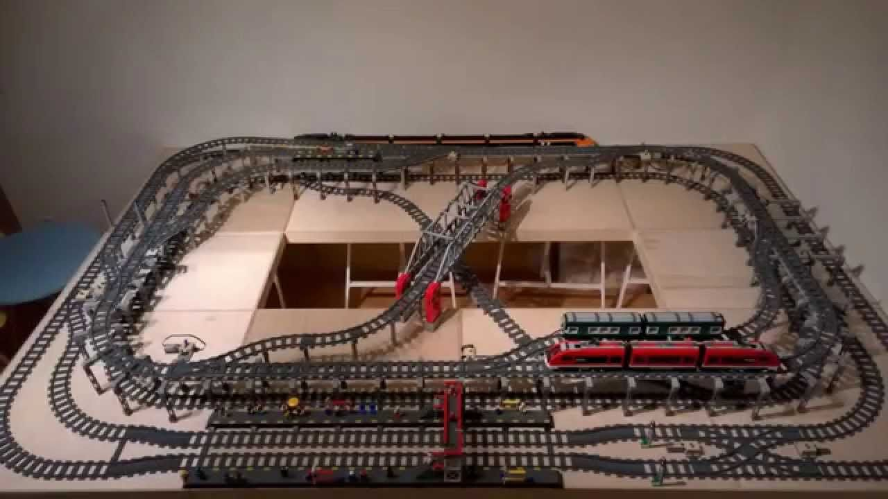 Ultimate Compact LEGO Train Layout