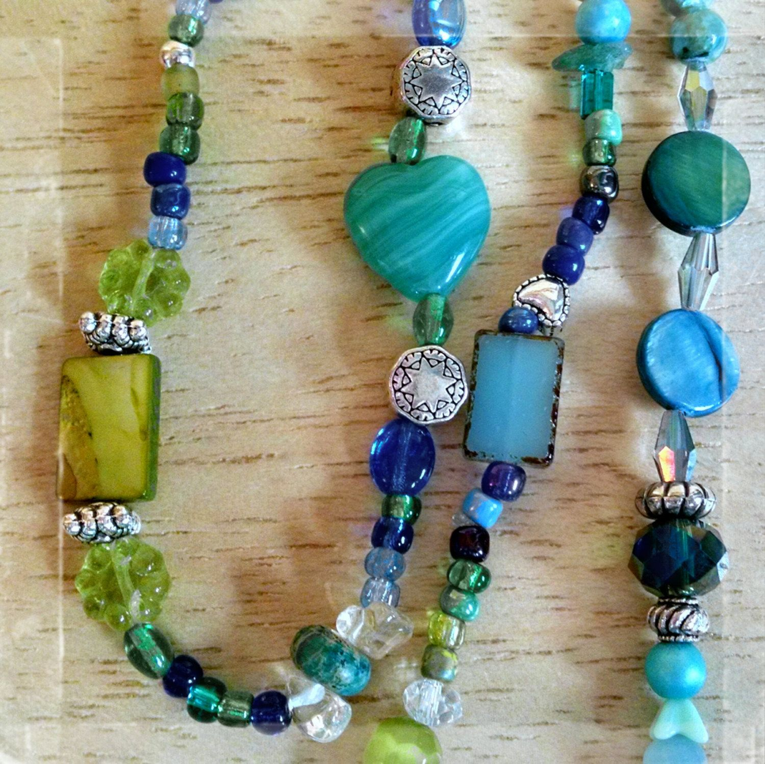 Forever ~Creative Soul Expression~ Intention Infused beaded adornment strand by MyArtOfAlchemy on Etsy https://www.etsy.com/listing/214065281/forever-creative-soul-expression