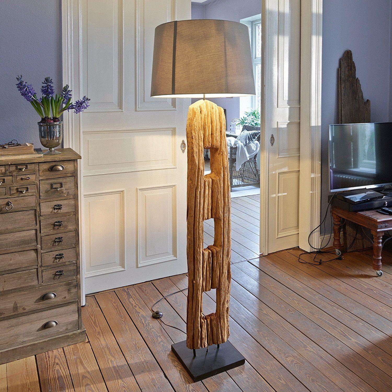 Loberon Stehlampe Custer Natur Amazon De Beleuchtung Decor