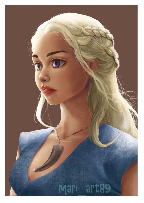 Daenerys Targaryen by Maki89Maringolo.deviantart.com on @DeviantArt