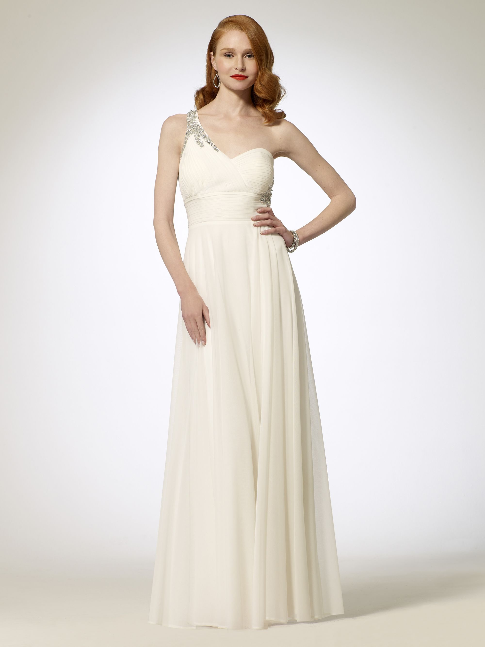 Dresses triple back strap gown caché wedding dancing gown