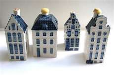 KLM Blue Delfts Houses