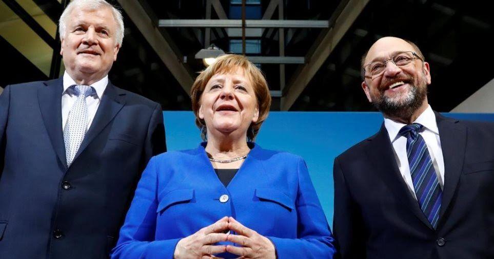 Γερμανία Ιστορικά χαμηλά ποσοστά για τα κόμματα του
