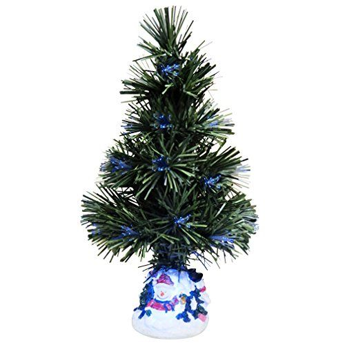 Evelots Color Changing Fiber Optic Christmas TreeMulti Color Holiday