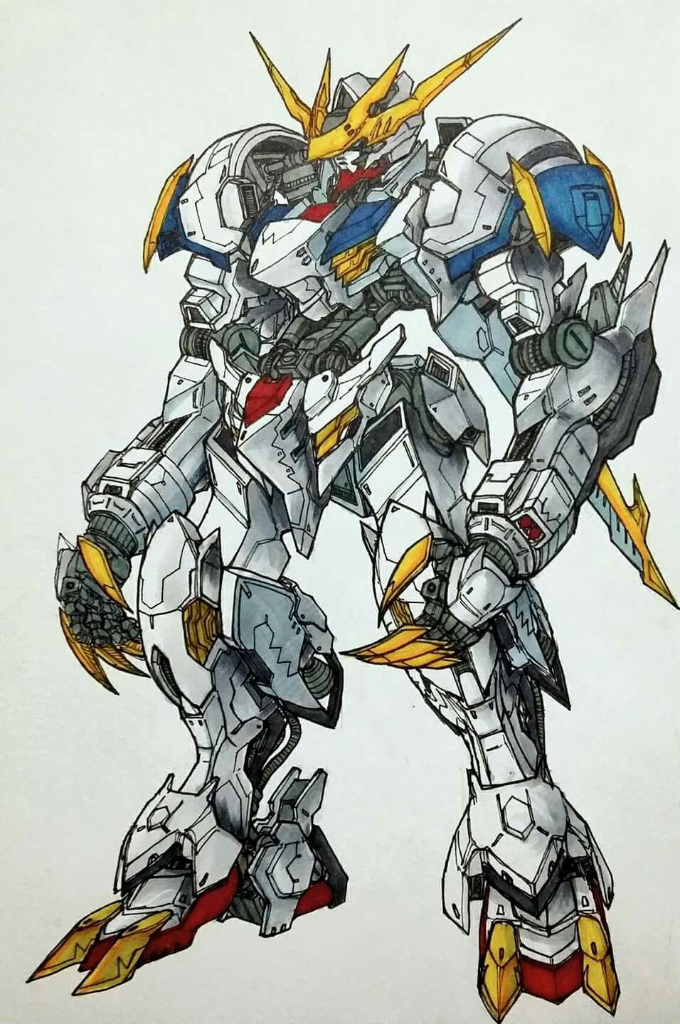 Barbatos Lupus Rex Gundam Wallpapers Gundam Iron Blooded