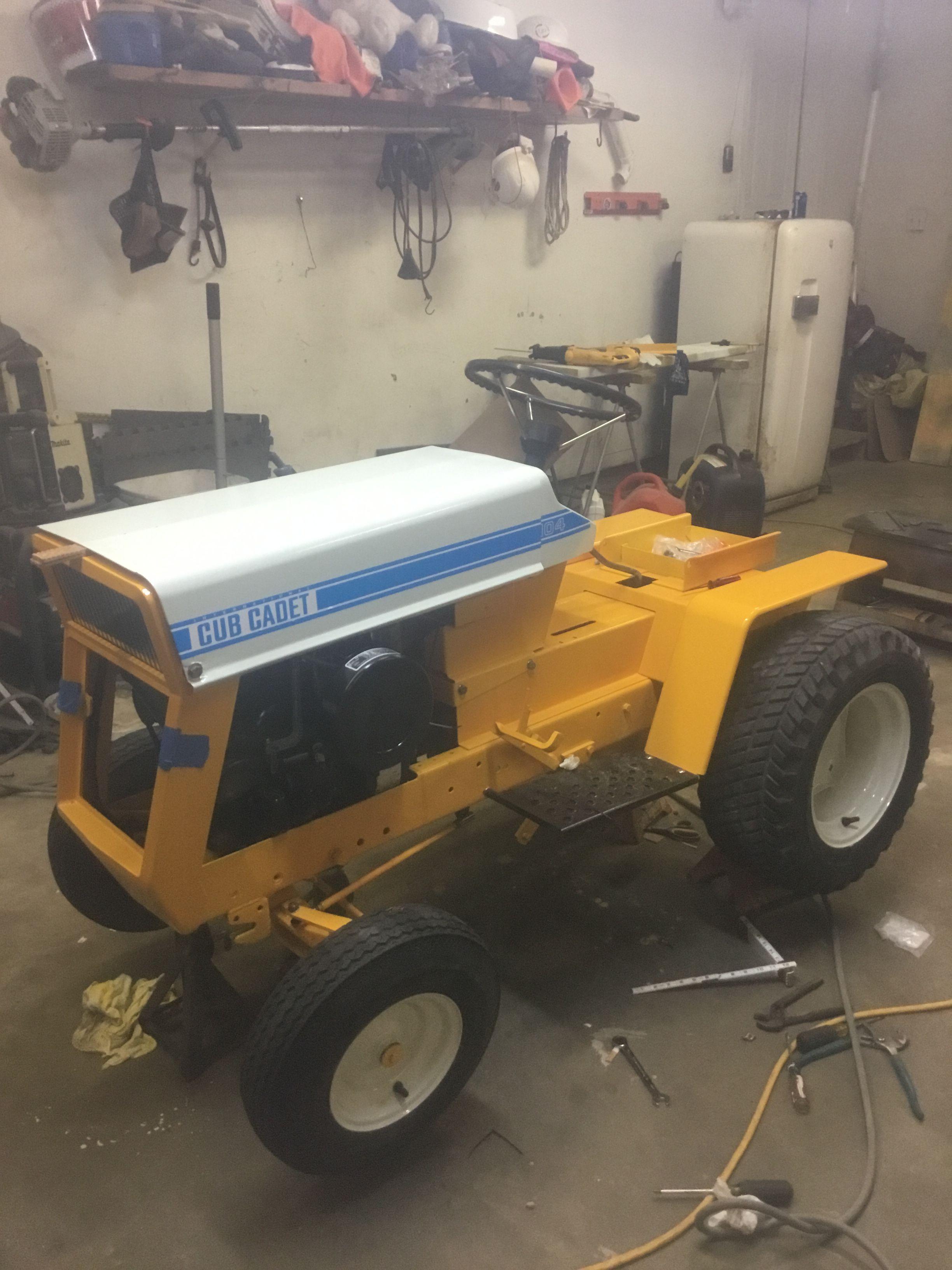small resolution of cub cadet 122 tractor w hydraulics snow blower plow 48 mower tiller creeper tony b cub cadet garden tractors for sale tractors