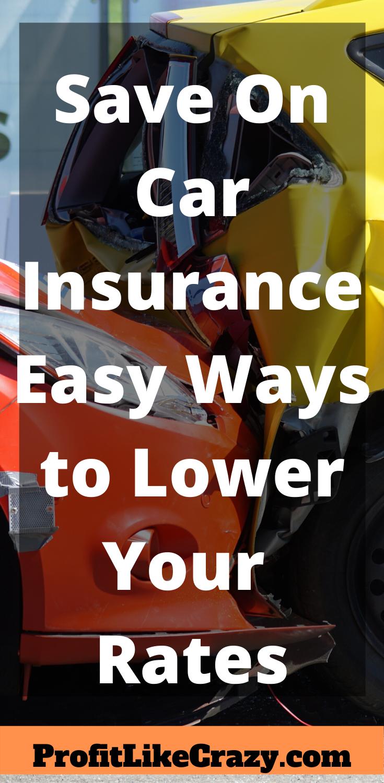 Save On Car Insurance | Investing money, Car insurance ...