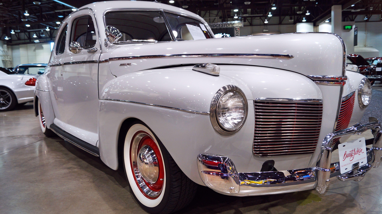 Cool restomod 1941 mercury super deluxe custom business coupe