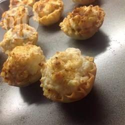 Photo recette : Amuse bouches au crabe royal