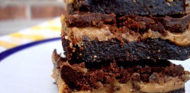 chocolate caramel bars2 #paleomg