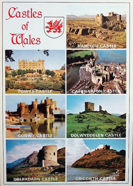 Castles of Wales, and they certainly have nice castles