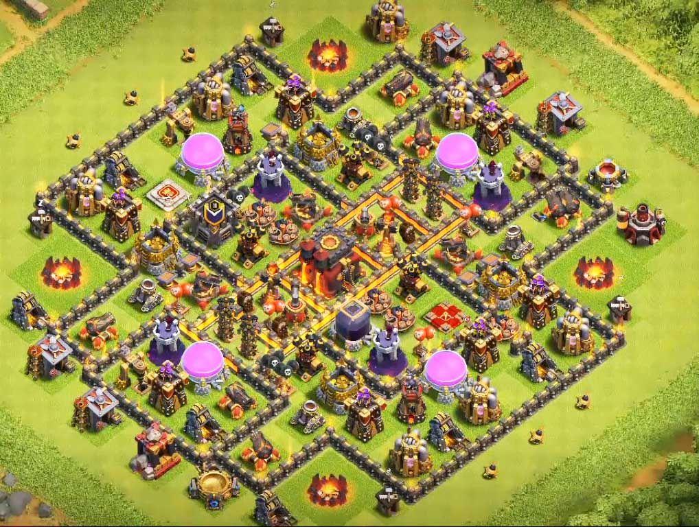 Base Coc Th 10 Anti Loot 11
