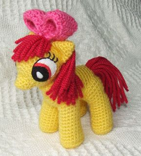 Knit One Awe Some: My Little Pony: Friendship is Magic - school-age ponies Crochet Pattern