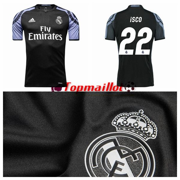 Maillot THIRD Real Madrid Isco