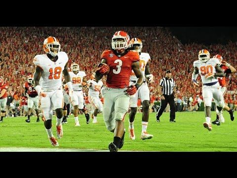 Todd Gurley S Heisman Hurdle Vs Tennessee Youtube Georgia Bulldogs Todd Gurley Youtube