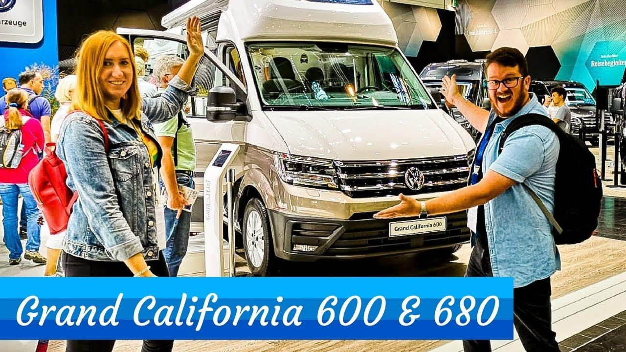 Brand New VW Grand California 600 & 680 - VW Camper Tour