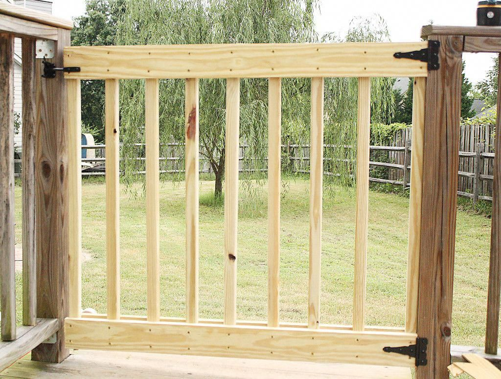 How To Build Your Own Deck Stair Gate Deck Stairs