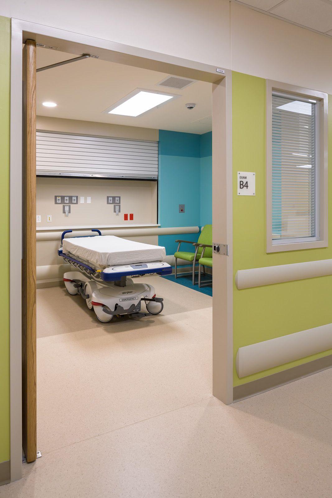 Behavioralhealth Ed Room Akron Children S Hospital Hasenstab Architects Hospital Interior Design Hospital Design Healthcare Design