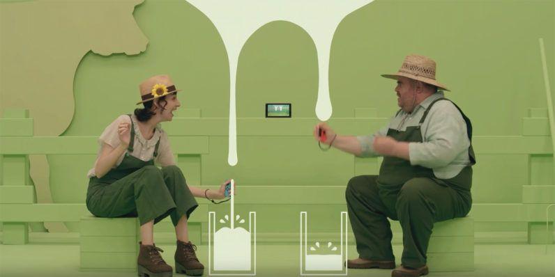 peta s crusade against nintendo s cow milking minigame is hypocrisy