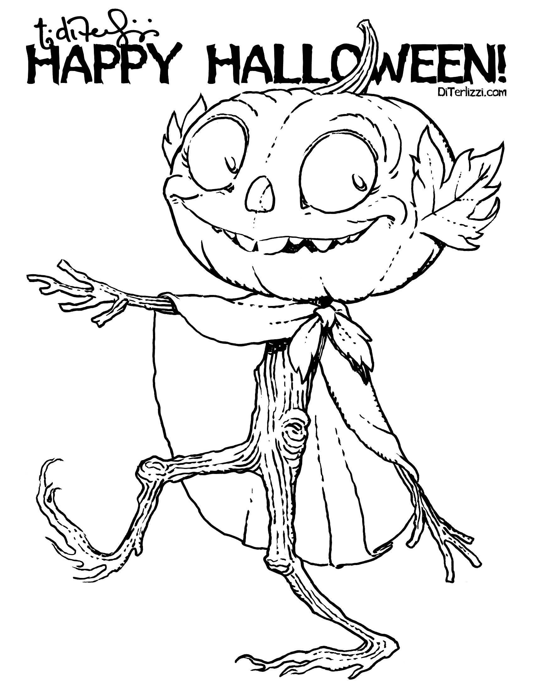 Jack O Lantern Parade Free Downloadable Printables From Tony Diterlizzi