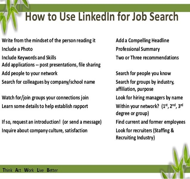 How To Use Linkedin To Find Job? #JobTips #Career #Linkedin JOB - find resumes on linkedin