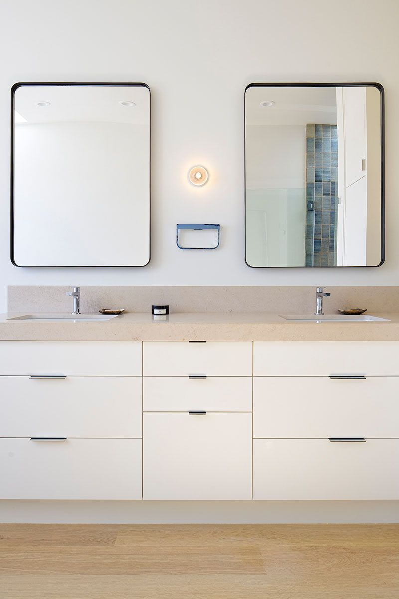 5 Bathroom Mirror Ideas For A Double Vanity | Home | Pinterest ...