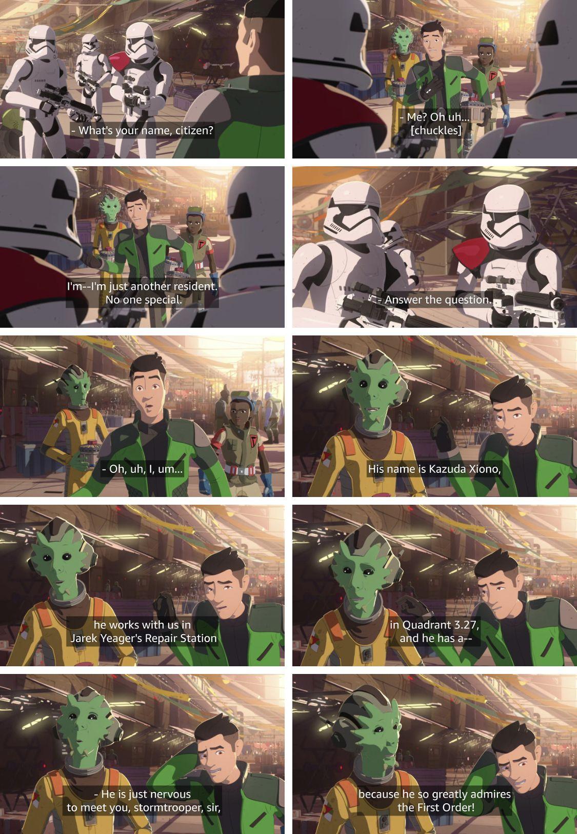 Neeku Is So Great He S One Of The Best Guys In Star Wars Resistance Neeku Star Wars Humor Star Wars Fans Star Wars Memes