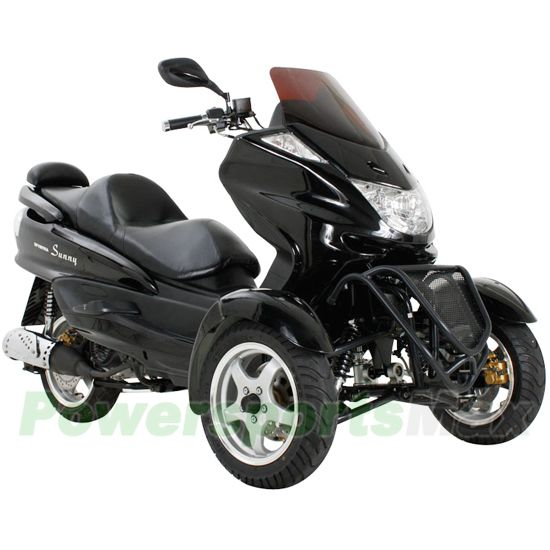 Trike Scooter $2079 | Cool Gadgets | Gas motor scooters