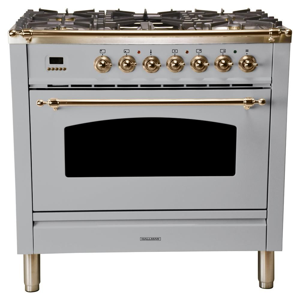 Single Oven Italian Gas Range True Convection
