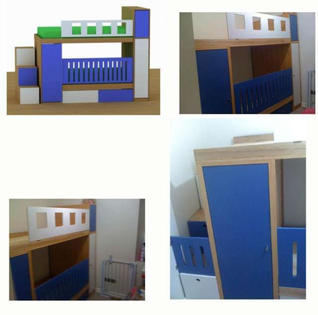 Muebles infantiles, cajoneras, camarotes funcionales cunas ...
