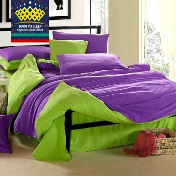 lime green and purple bedroom lime green duvet cover sweetgalas 19065