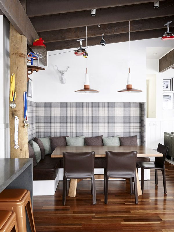 Andrew and Tiffany Percy and Family Pinterest Banquettes, Design