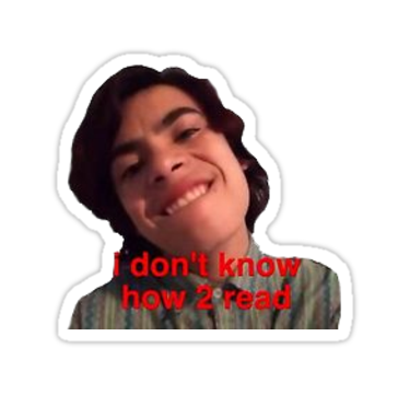 Jared Vine Sticker Funny Stickers Vine Quote