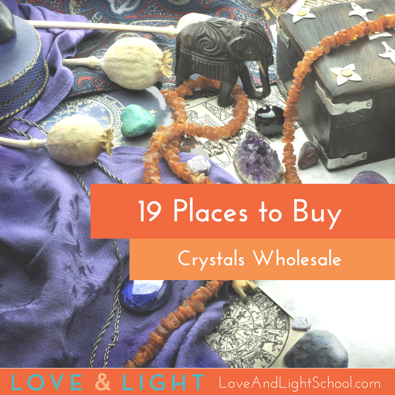 40 Places to Buy Healing Crystals Wholesale | Sacred