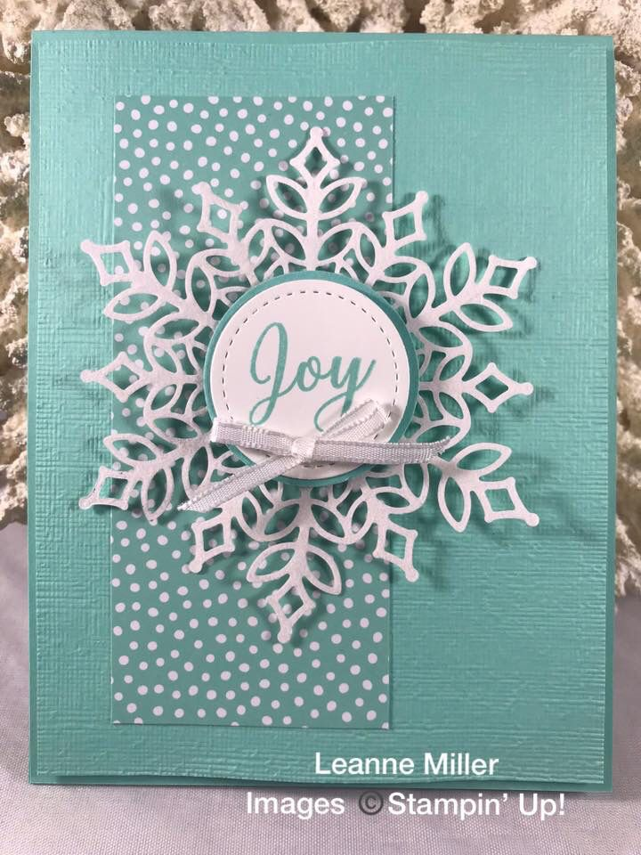New!! Snowfall Thinlets Card- Stunning Limited Edition Snowflake Showcase Stamp Sets & Thinlets by Up