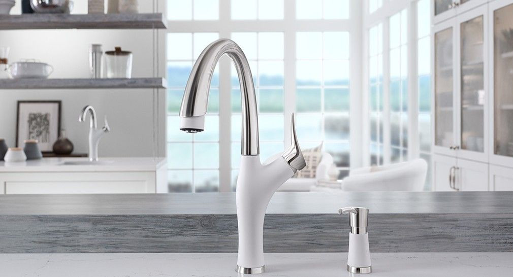 Benefits Of Installing A White Kitchen Faucet And Sink In Your