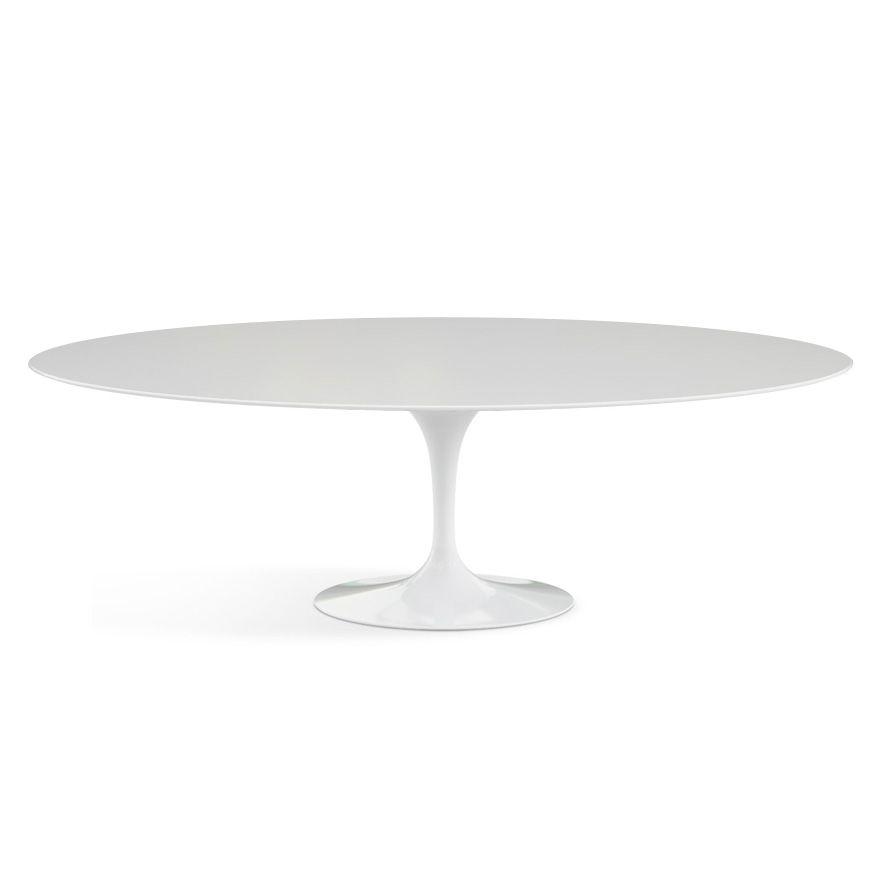 Saarinen Dining Table Oval Knoll Kirshbaum Kitchen - Saarinen table 96