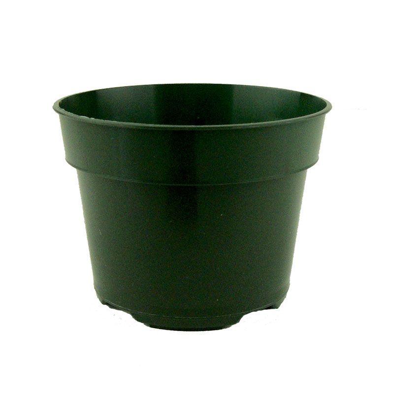 Repotme Com 5 X 3 75 Tall Green Plastic Pot Plastic Pots Plastic Nursery Pots Pot