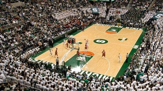 American college basketball #spartans #kilroy #stadium #arena #michigan #msu