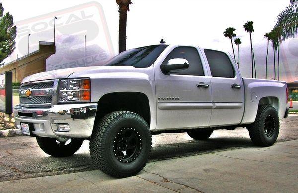 Lifted Chevrolet Silverado Trucks  RAGs TRUCKS  Pinterest