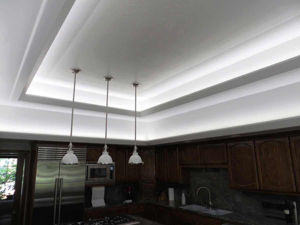 Modern Kitchen Led Cove Lighting 2 Strip Lighting Led Light