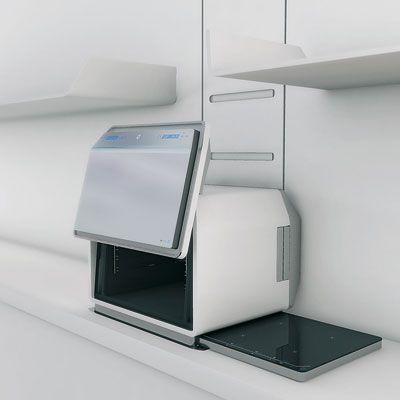 cuisine 2 0 l 39 lectrom nager du futur cuisine avant gardiste kitchen trendsetter. Black Bedroom Furniture Sets. Home Design Ideas