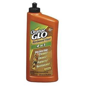 Orange Glo Hardwood Floor 4 In 1 One Easy Step Cleaner