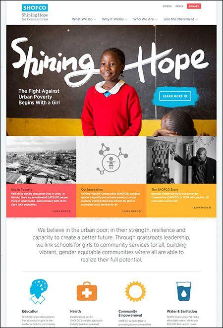 10 Well Designed Responsive Nonprofit Websites Nonprofit Website Design Nonprofit Design Wellness Design