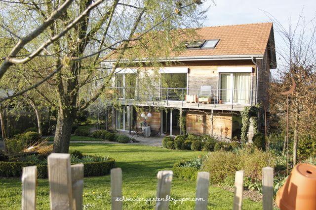 Holzfassade, Wooden House, Lärchenschalung, Hanglage