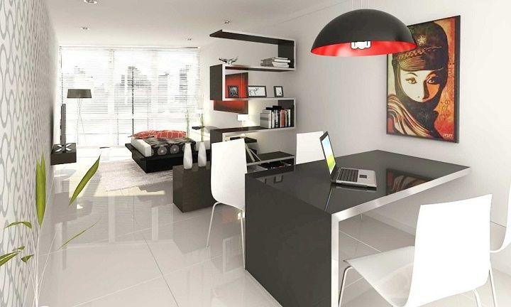 Ideas para decorar un monoambiente dise o e interiores for Ideas de diseno de interiores