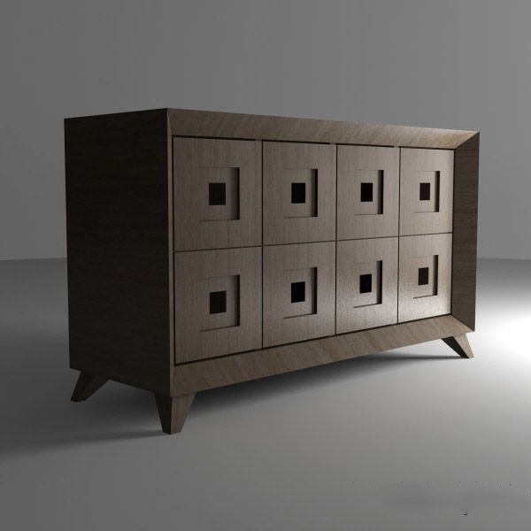 fineobjectsru Комод \u002760 MORE CUBE Console Tables / Sideboards