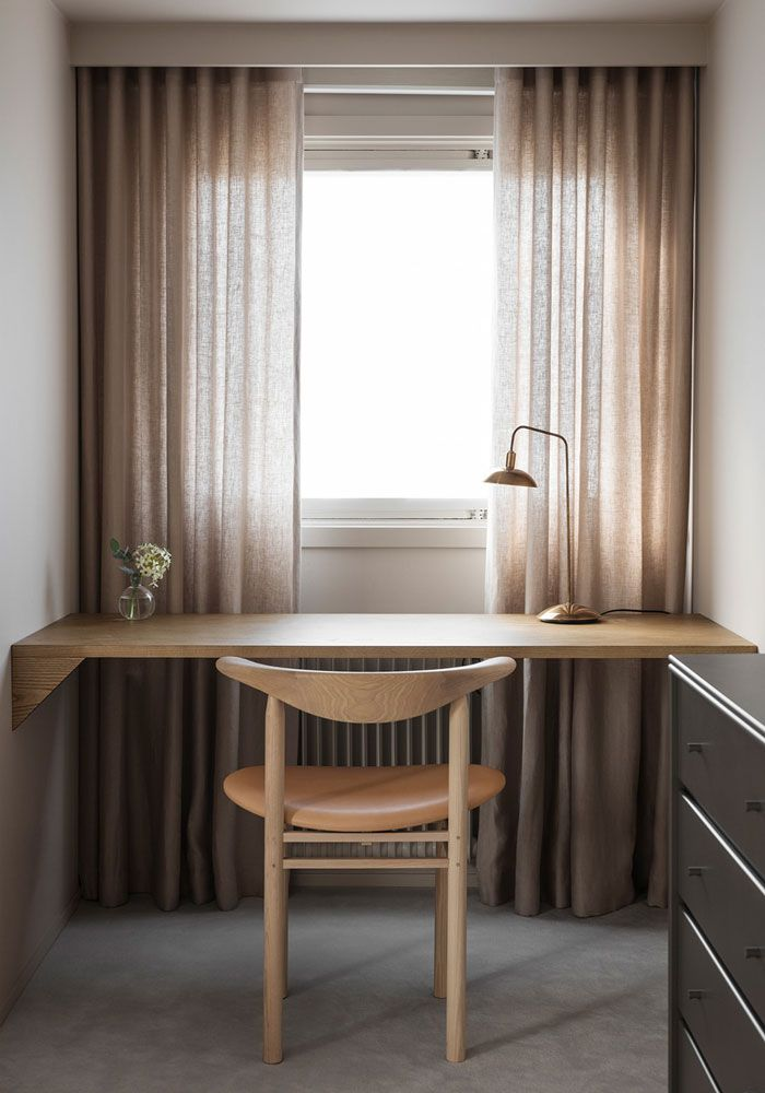 Wooden x Minimalist Interior Interior Design Studio: Liljencrantz Design Location: Stockholm, Sweden Photographer: Erik Lefvander