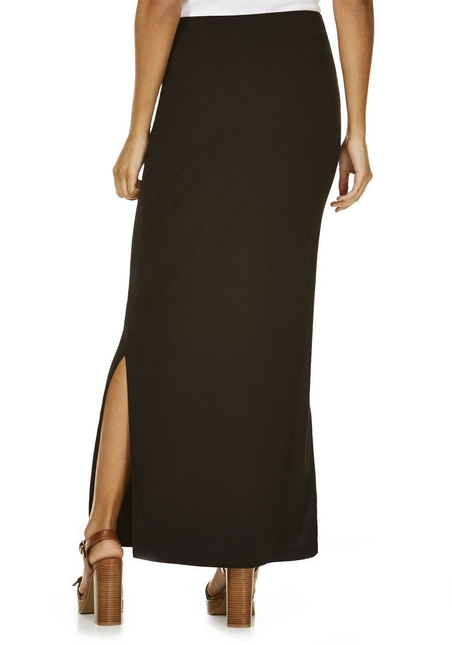 88f5650d5 Clothing at Tesco | F&F Side Split Maxi Skirt > skirts > Skirts > Women